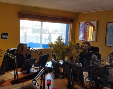 Émission de Radio avec Bertrand Clauzon à France Bleu Roussillon 2019