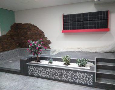Un mur végétal aux maisons VIBEL