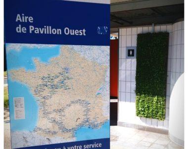 Un tableau végétal pour Vinci autoroutes